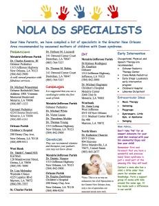 Specialists NOLA