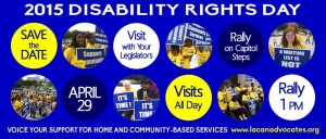 Disability Rights Rally Day